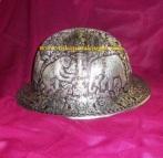 helm ukir, helm tatah, helm perak, pengrajin helm kotagede, hard hats, toko helm, cobalt, rig