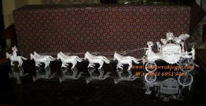 kereta silver, kereta kencana perak silver, andong, becak, dokar, perak kotagede, kerajinan kereta yogyakarta